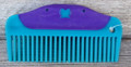 "Comb - 5.0"" Plastic Easy Grip Butterfly (Teal)"