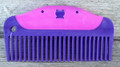 "Comb - 5.0"" Plastic Easy Grip Butterfly (Pink)"