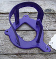 Bridle Holder - Vinyl Coated Steel (Purple)