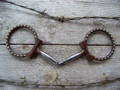Bit - Antique D-Ring Snaffle with SS Dots
