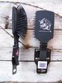 Long Tooth Grooming Brush - Black
