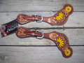 Spur Straps - Beaded Sunflower (Ladies) by Rafter T Ranch Company