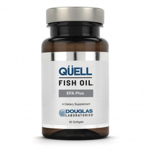QÜELL Fish Oil EFA Plus - 60 Softgels