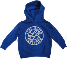 KIDS LONG BEACH CERTIFIED CURSIVE LOGO