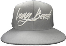 GRAFFITI GREY SNAPBACK HAT