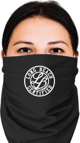 LONG BEACH CERTIFIED BANDANA BLACK UNISEX