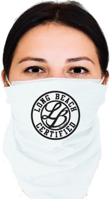LONG BEACH BANDANA WHITE UNISEX