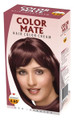 Color Mate Hair Color Cream - Mahogany (Box)