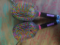Tail Tamer Multi-Colored Paddle Brush