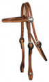 Tooled Browband Headstall 8163H