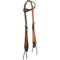 Oxbow Dyed Background Slip Ear Headstall
