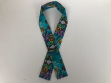 Cooling Scarf  (Turquoise  Hawaii Ocean Life)