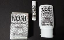 Noni Soap, Lotion and Lip Balm Set