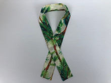 Cooling Scarf  (Cool Beige Palm Trees)