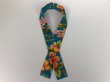 Cooling Scarf  (Turquoise Floral)