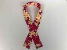 Cooling Scarf  (Fuchsia Pink Plumeria)