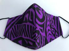 Face Mask(Tribal Purple/Blk)