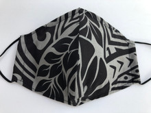 Face Mask(Tribal Grey/Blk)