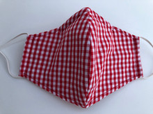 Face Mask(Red Gingham)
