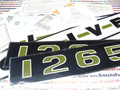 1265 Decal Set - Oliver 1265 31-2900606
