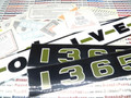 1365 Decal Set - Oliver 1365 31-2900244