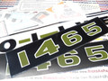1465 Decal Set - Oliver 1465 31-2900215