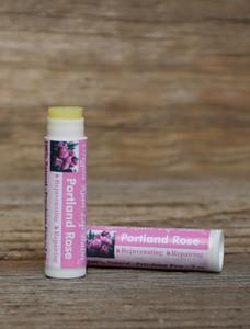 All Natural Portland Rose  Moisturizing Lip Balm Made Oregon, USA