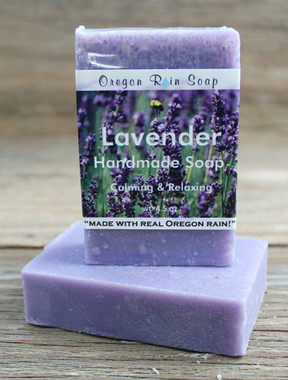 Lavender - Mild cleansing bar soap 100% Naturally Scented Made in Oregon, USA