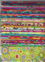 "Fabric designed by Kaffe Fassett for Westminster Fibers.    40 - 5"" squares per package, one of each print. Package may include floral, geometric & stripe fabrics.  Fabrics may vary from package to package.  Quilt shop quality 100% cotton fabric. For use in quilting, sewing, patchwork, apparel, home decor, crafts and more."