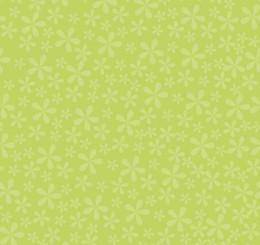 Sugar Daisy Tonal - Green