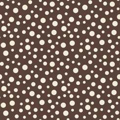 Riley Blake Basics Dots - Brown