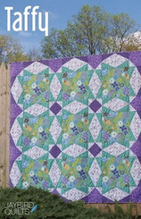 Jaybird Quilts - Taffy Quilt Pattern