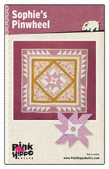 Pink Hippo Quilts - Sophie's Pinwheel Quilt Pattern