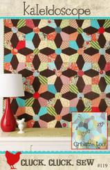 Cluck Cluck Sew - Kaleidoscope Quilt Pattern
