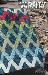 Jaybird Quilts - Varsity Quilt Pattern