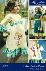 Indygo Junction - Urban Prairie Dress Pattern