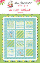 Main Street Market Designs - ABC & 123 Quilt Pattern