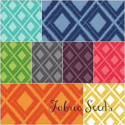 Simply Color Ikat Diamonds - Available in 8 colorways!