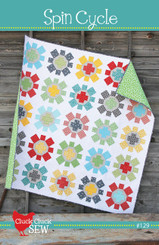 Cluck Cluck Sew - Spin Cycle Quilt Pattern