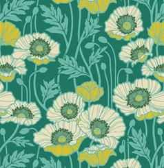 Notting Hill Pristine Poppy -Teal