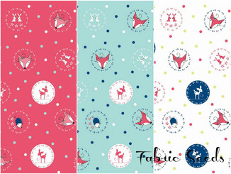 Enchant Little Folk ~ Available in 3 colorways