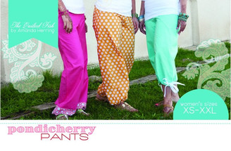 The Quilted Fish  - Pondicherry Pants Pattern