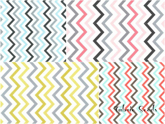 Mini Chic Chevron ~ Available in 4 colorways