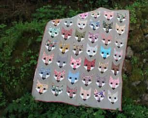 Elizabeth Hartman - Fancy Fox Quilt Pattern