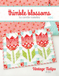 Thimble Blossoms - Vintage Tulips Mini Quilt Pattern