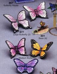 """RiverView 877   Butterflies (2)  5""""x6"""""""