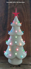 """RiverView RS-808 Christmas tree  10"""" tall"""