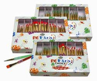 Big Kids Brush packs - 3 packs assorted