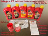 Schaeffer's 919 Webscope PM Oil Analysis Prepaid Test Kit