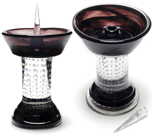 Black Royal Glass Debowler